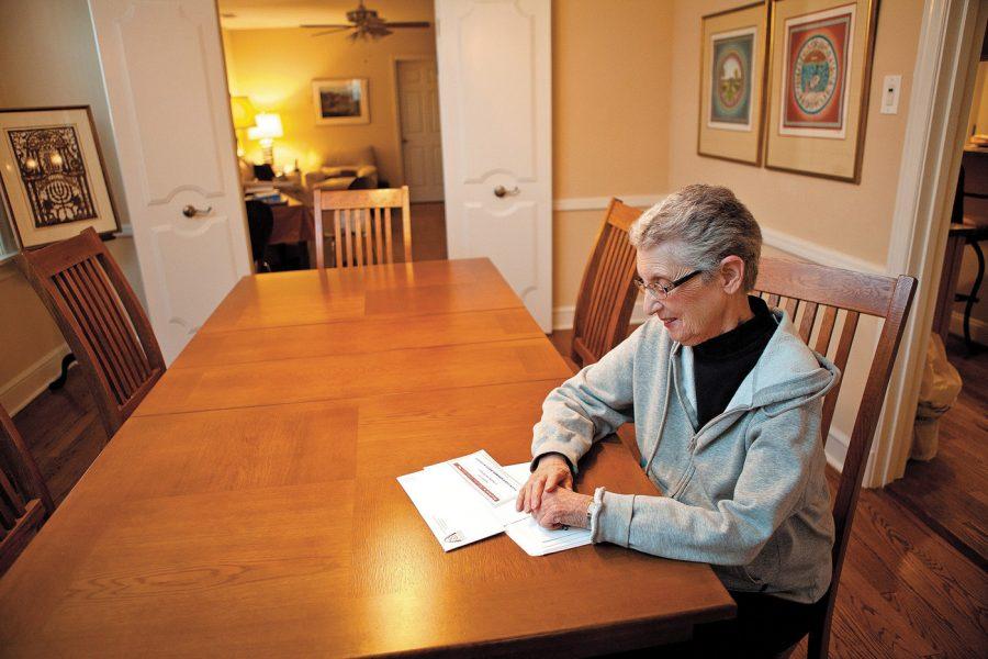 Unsung Hero Merle Hartstein in her U. City home. Photo: Lisa Mandel