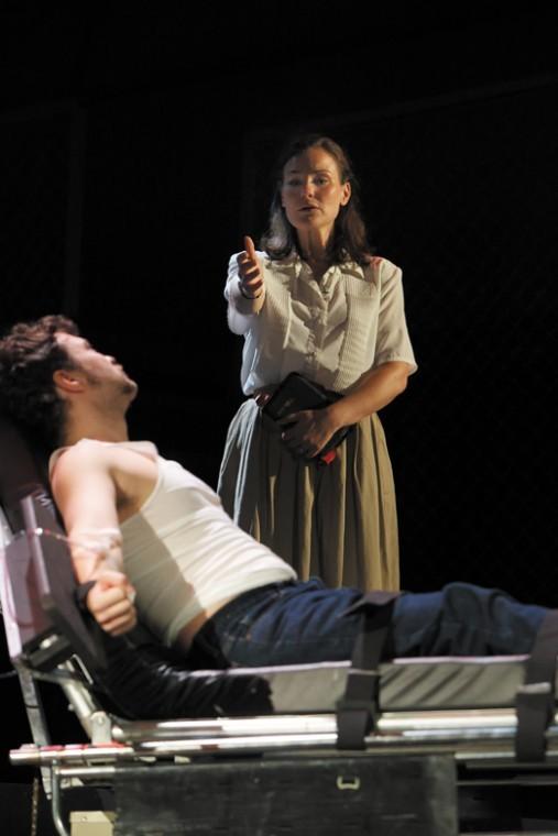 Elise Quagliata and Jordan Shanahan perform in Union Avenue Operas production of 'Dead Man Walking. Photo: Ron Lindsey