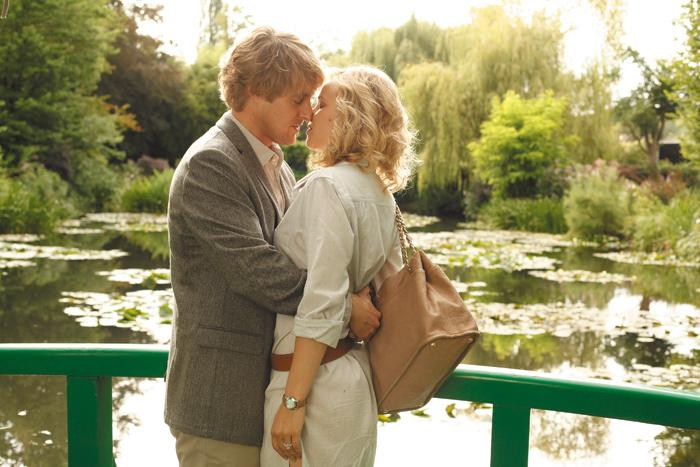 """Owen Wilson stars as Gil, a """"Hollywood hack"""" turned aspiring writer, with Rachel McAdams as Inez, Gil's fiancée. Photo by Roger Arpajou. Courtesy of Sony Pictures Classics."""