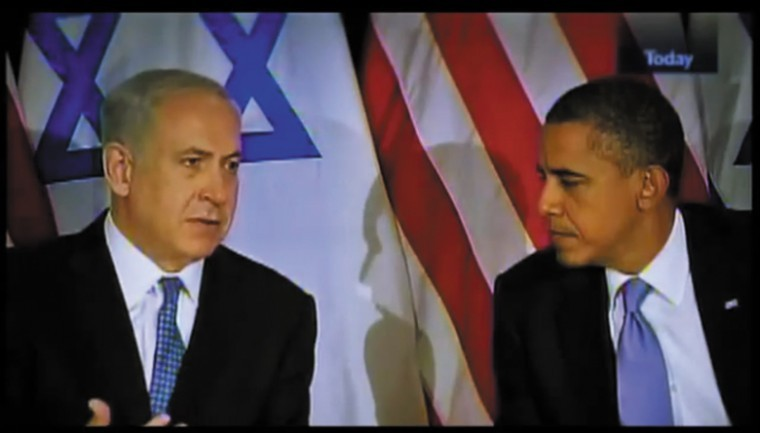 Israeli Prime Minister Benjamin Netanyahu speaks of President Barack Obama's commitment with Israel in a seven-minute internet video released by the Obama campaign. The video is part of an effort to respond to attacks on Obama's record on Israel.