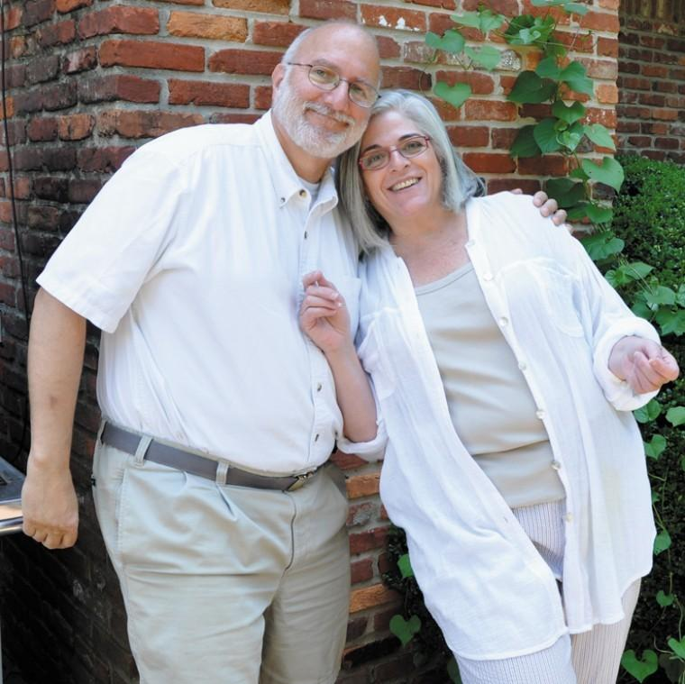 Judy and Alan Gross are pictured in a family photo.