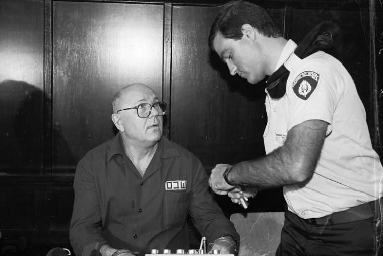 John Demjanjuk in Israels Supreme Court in Jerusalem. Demjanjuk was accused of concealing a past as a Nazi concentration camp guard. File photo: Flash 90