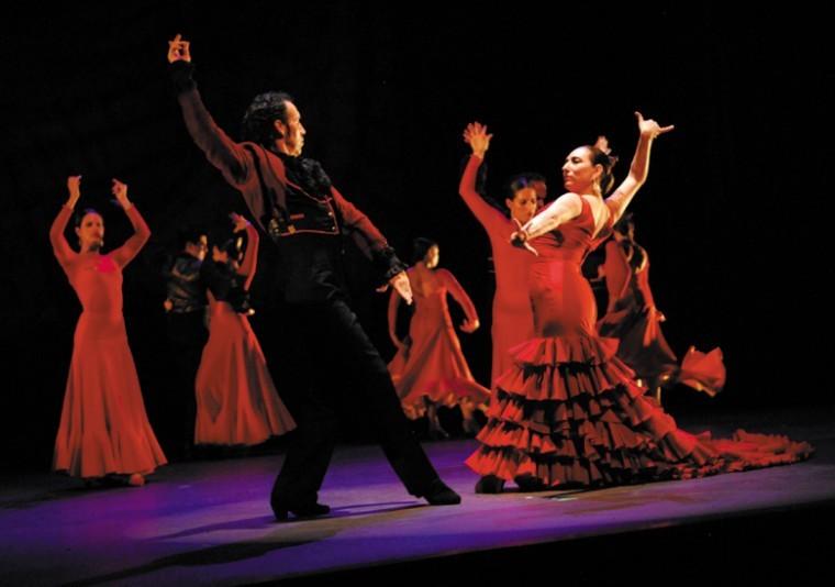 Ensemble Espanol Spanish Dance Theater performing