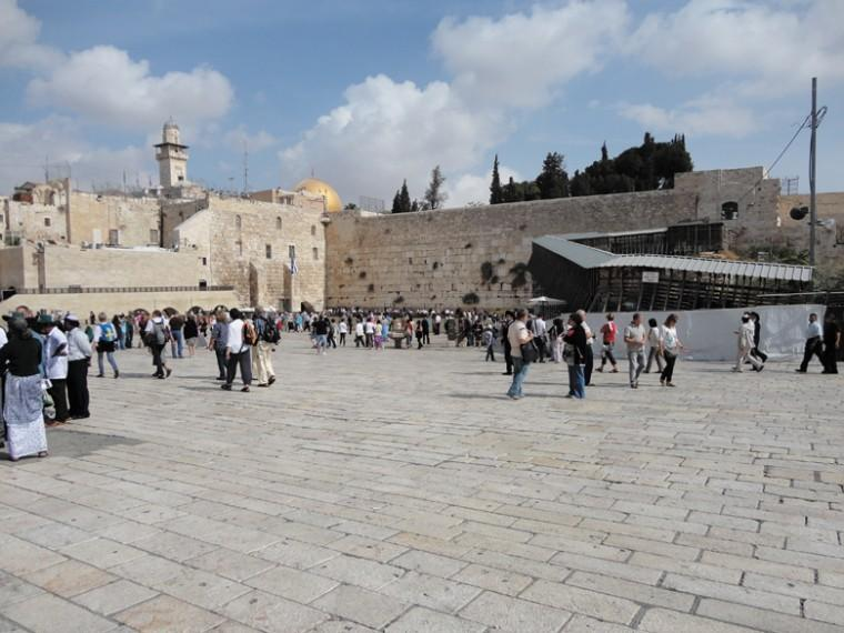 A view of the Kotel in the Old City of Jerusalem. Webster University President Beth Stroble traveled to Israel recently on a trip for university leaders.