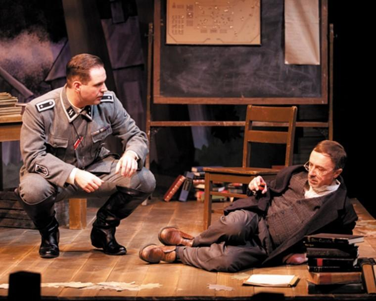 Jason Cannon, Terry Meddows perform in the New Jewish Theatres production of 'Way to Heaven.