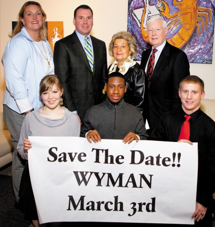 Save the date for the Wyman Orange Carpet Gala, A Night at the Oscars