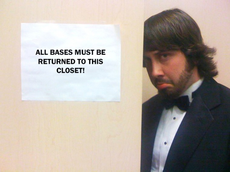Avi Kaplan goofs off after a show. Kaplan's a capella group, Pentatonix, came in first place on the NBC reality show 'The Sing-Off.'