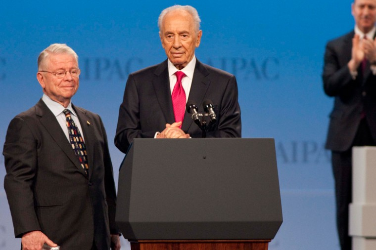 Israeli+President+Shimon+Peres+addresses+the+AIPAC+Policy+Conference+in+Washington%2C+D.C.+on+Mar.+4%2C+2012.%0A