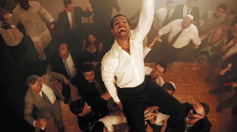 In+his+video+for+the+song+%E2%80%9CHYFR%2C%E2%80%9D+Drake+re-creates+his+bar+mitzvah%E2%80%94sort+of.%C2%A0%0A