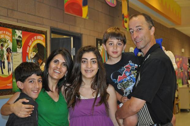 The Butwin family of Tempe, Ariz., shown in a photo from May 2009, isbelieved to have been killed in a murder-suicide.