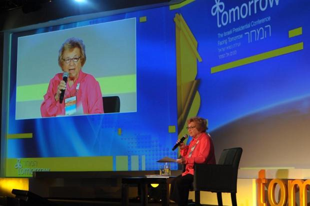 Dr. Ruth Westheimer speaking about