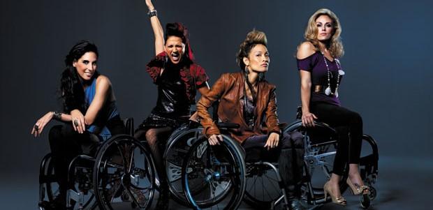 From left , Mia Schaikewitz, Auti Angel, Angela Rockwood and Tiphany Adams.