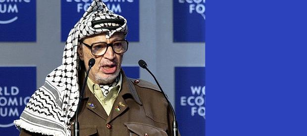 Yasser Arafat. Credit: World Economic Forum/JNS