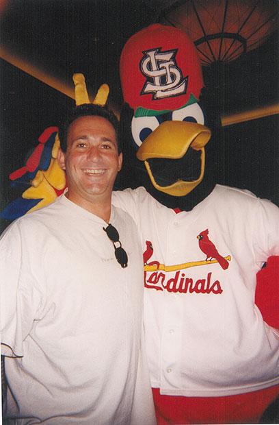 Jeff Altman with Fredbird