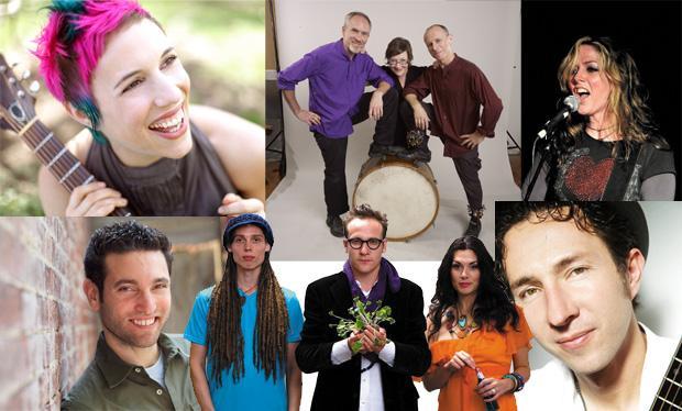 Jewish Rock Festival artists