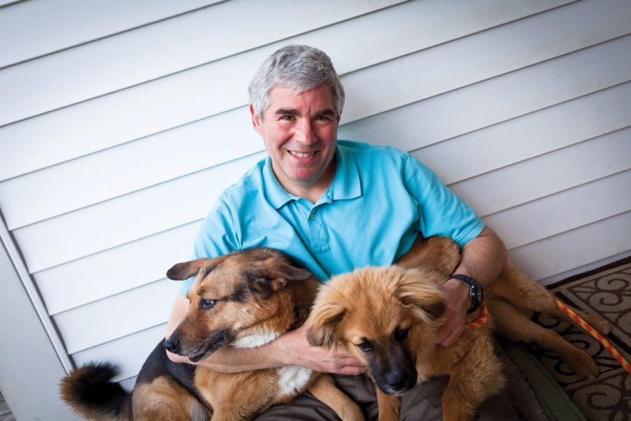 Portrait of Derek Cohn in 2013. Photo: Lisa Mandel