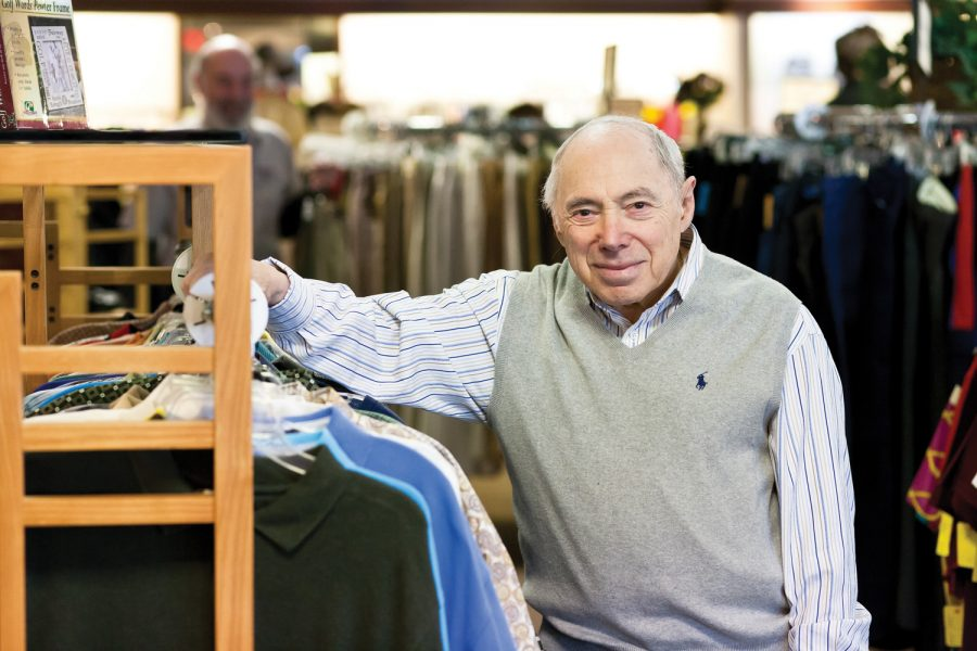 Herb Eissman is pictured at The Resale Shop, which is run by National Council for Jewish Women - St. Louis Section. Photo: Lisa Mandel