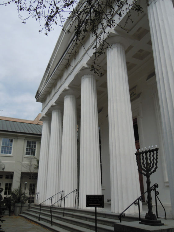 The+exterior+of+the+sanctuary+of+Kahal+Kadosh+Beth+Elohim+%28KKBE%29+Congregation+in+Charleston%2C+S.C.%C2%A0+The+congregation+was+founded+in+1749+and+its+current+spiritual+leader%2C+Rabbi+Stephanie+Alexander%2C+is+a+native+St.+Louisan.%C2%A0