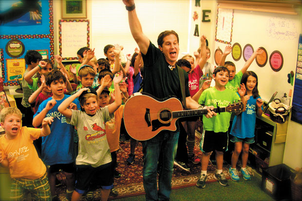 Jewish musician and SMJCS parent Rick Recht will perform at the close of a school open house event planned for Oct. 21.