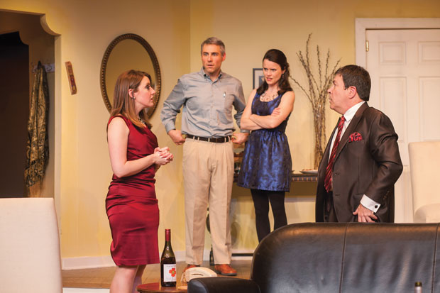 From+left%2C+Nicole+Angeli%2C+Richard+Strelinger%2C+Julie+Layton+and+Jerry+Russo+perform+in+Hot+City%E2%80%99s+production+of+%E2%80%98Kosher+Lutherans%2C%E2%80%99%C2%A0+which+runs+through+Dec.+21+at+the+Kranzberg+Arts+Center.%C2%A0%C2%A0