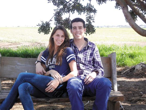 Jason Ast and Andrea Surasky
