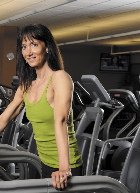 Cathleen Kronemer,NSCA-CPT, Certified Health Coach, is a longtime fitness instructor at the Jewish Community Center.