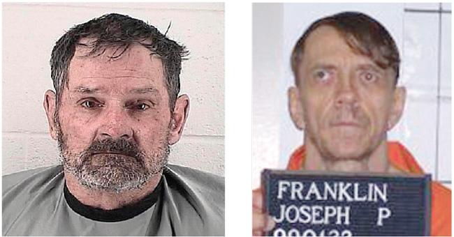 Frazier Glenn Cross (left) and Joseph Paul Franklin.  Photos courtesy Johnson County, Kan. Sheriff's Department (Cross) and Missouri Department of Corrections.
