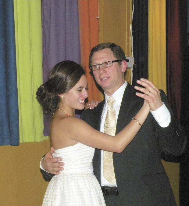 Both+Latin+American+and+Jewish%2C+Alejandra+Cohen+dances+with+her+father%2C+Anthony+Cohen%2C+during+her+quincea%C3%B1era%2C+a+traditionally+Hispanic+coming+of+age+ceremony.+%28photo+courtesy+Alejandra+Cohen%29