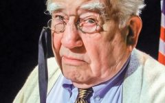 Legendary TV actor Ed Asner performs in the one-man show 'FDR.'