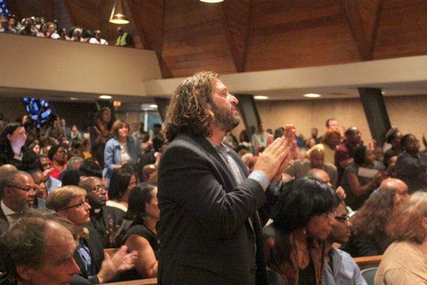 Faith community gathering for Ferguson