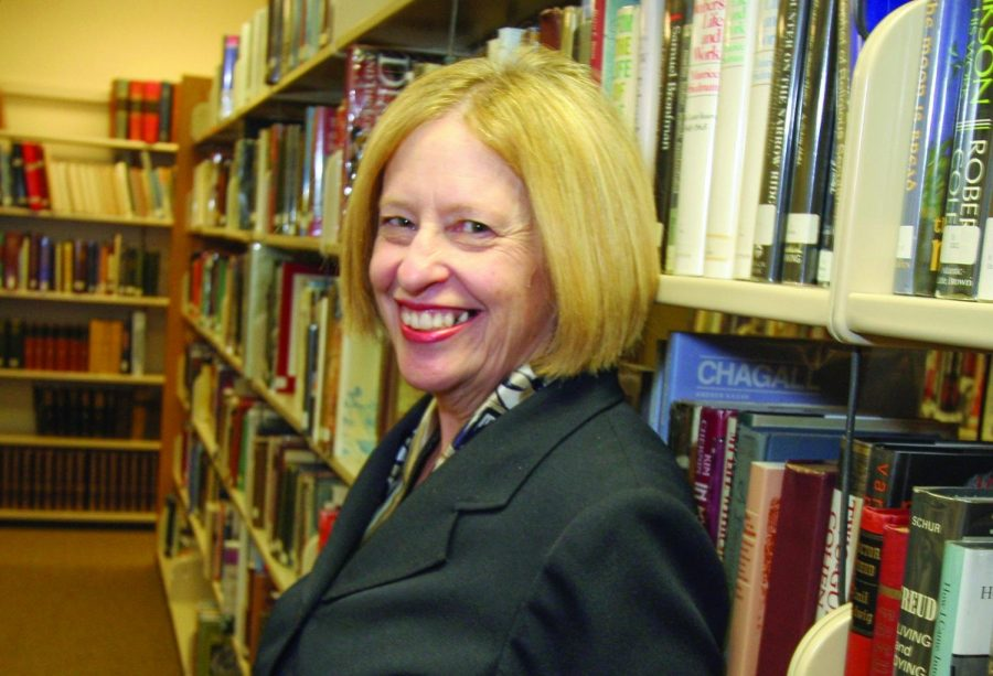 Barbara+Raznick+in+the+Brodsky+library%2C+where+she+has+worked+for+the+past+30+years.+File+photo%3A+Lisa+Mandel