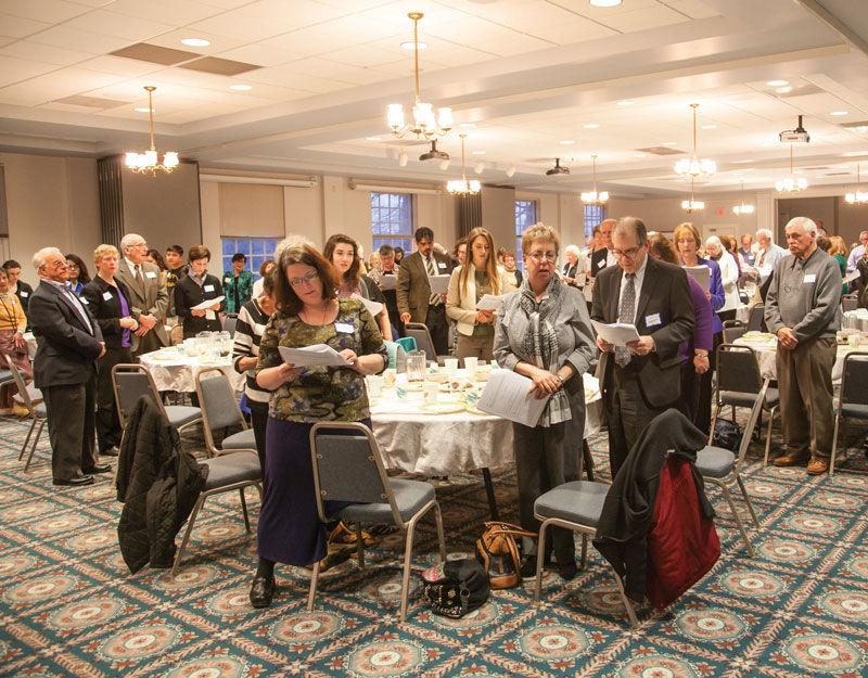 About+130+people+took+part+in+the+Jewish+Community+Relations+Council%E2%80%99s+annual+Community+Hunger+Seder%2C+held+March+25+at+Ladue+Chapel+Presbyterian+Church.%C2%A0+Photo%3A+Andrew+Kerman.%C2%A0