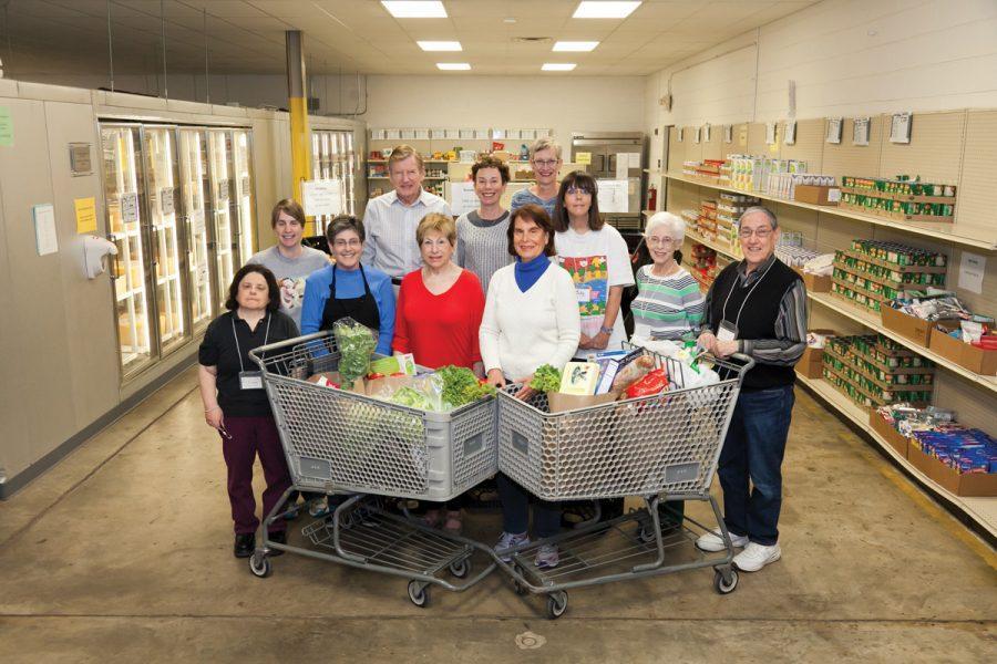 Volunteers of the Harvey Kornblum Jewish Food Pantry