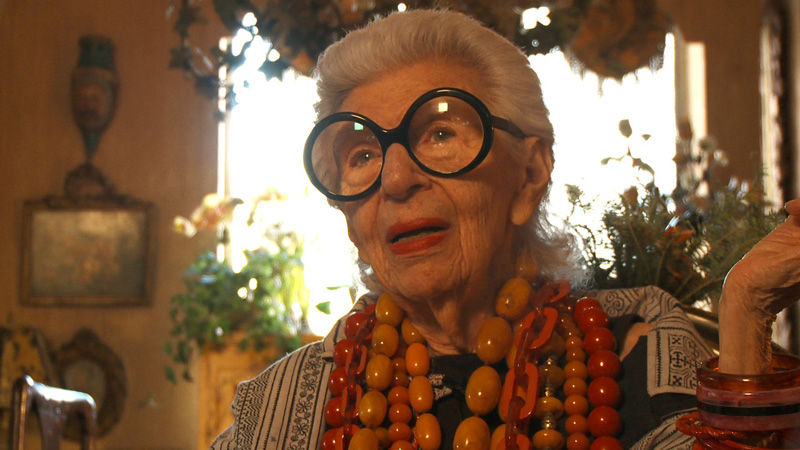 Interior+decorator+and+well+known+fashionista+Iris+Apfel+is+the+subject+of+a+new+documentary+by+filmmaker+Albert+Maysles.%C2%A0