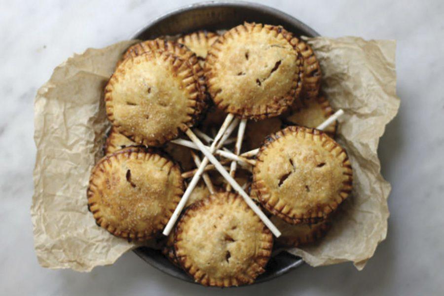 Apple and honey pie pops. Photo: Sheri Silver