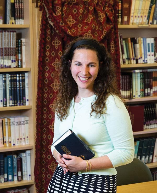 Lila+Kagedan+is+the+first+graduate+of+Yeshivat+Maharat+to+use+the+title+rabbi.+%28Courtesy+of+Lila+Kagedan%29