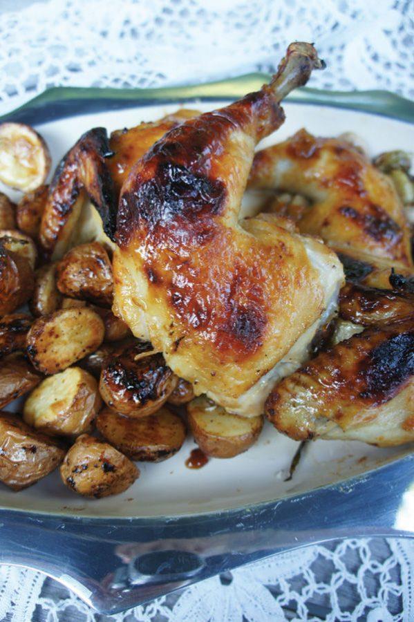 Sheet+Pan+Apricot+Dijon+Chicken%C2%A0