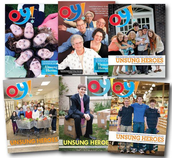 Clockwise+from+top-left+are+the%C2%A0+covers+of+Oy%21+Magazine+-+Unsung+Heroes+from+2010+to+2015