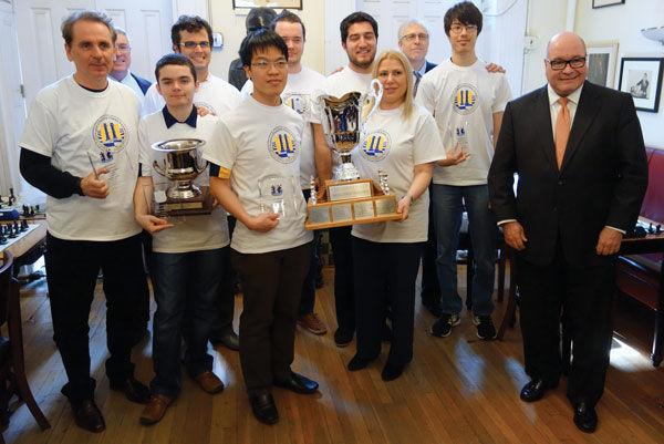 Webster University chess team