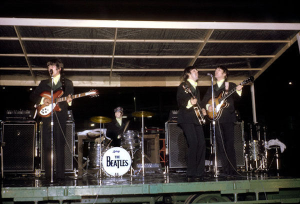One of Mark Richmanscolor photographs taken during the Beatles' visit to St. Louis in 1966.