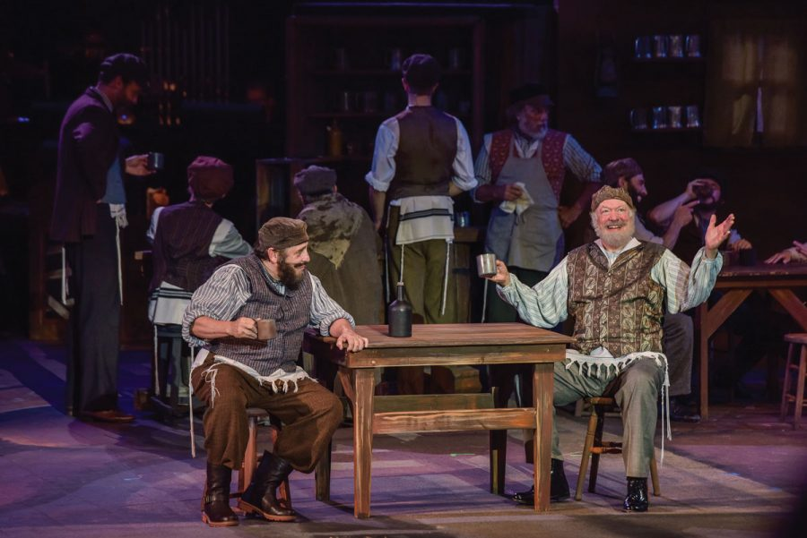 Michael McCormick and Peter Van Wagner in the Muny's production of
