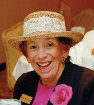 Mimi Edlin and her family established scholarships at the Jewish Light and the Sarasota-Manatee Jewish News in Florida to honor her late husband, Joseph J. Edlin. Joseph Edlin was a longtime Trustee and Past President of the Light.
