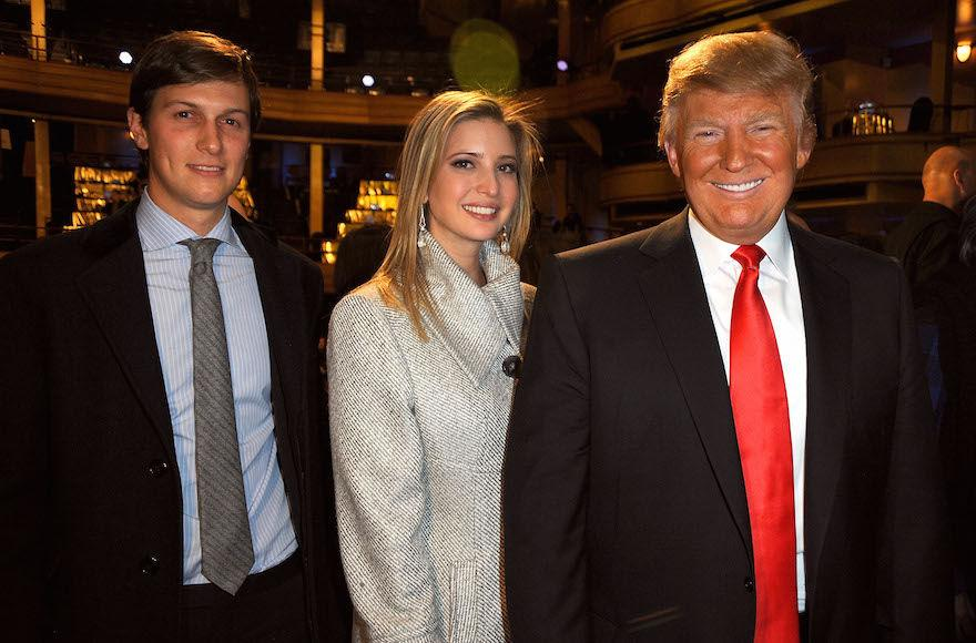 Jared+Kushner%2C+Ivanka+Trump+and+Donald+Trump+attending+the+Comedy+Central+Roast+of+Donald+Trump+at+the+Hammerstein+Ballroom+in+New+York+City%2C+March+9%2C+2011.+%28Jeff+Kravitz%2FFilmMagic+via+Getty+Images%29