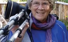 Longtime animal photographer Marian Brickner has a particular affinity for bonobos