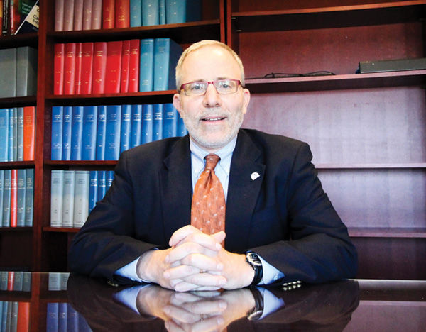 Dr. Paul J. Hauptman. Photo courtesy of St. Louis University.
