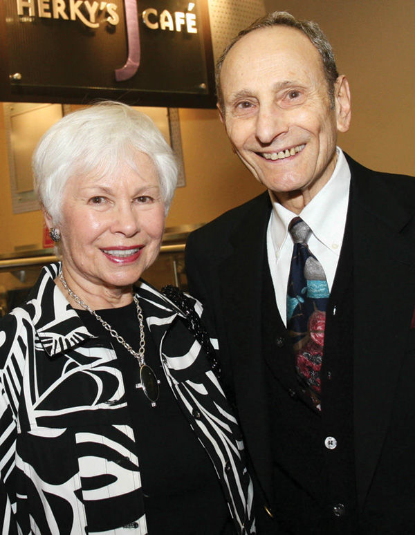 Harold+and+Ruth+Sher+have+been+longtime+supporters+of+the+Jewish+Community+Center.%C2%A0+In+2016%2C+the+J+renamed+its+Center+of+Jewish+Life+in+honor+of+the+couple.%C2%A0Photo+courtesy+of+the+J