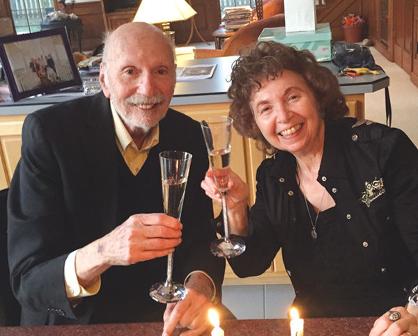 Monte+and+Harriet+Ross+Celebrate+60th+Anniversary