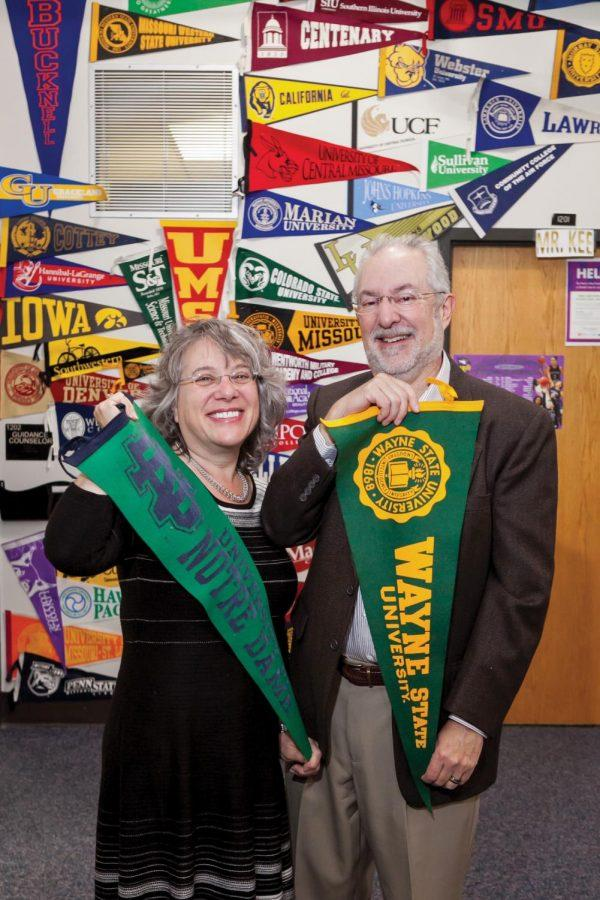 Lois and Dave Zuckerman founded Mentors4College. Photo: Lisa Mandel