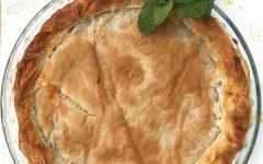 Spinach and Mushroom Filo Pie