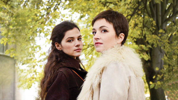 Nelly Tagar (left) and Joy Rieger star in 'Past Life' as sisters in late-1970s Jerusalem who investigate a taboo topic: the mystery of their difficult father's experiences in Poland during the Holocaust.